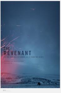 First poster for upcoming revenge movie The Revenant