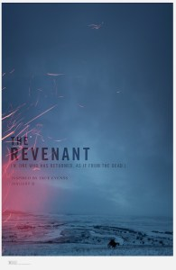 First poster for upcoming revenge movie The Revenant