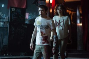 Jeremy Saulnier's Punk Rockers Vs Skinheads Movie GREEN ROOM Is Tense , Survival Horror Done To Perfection.