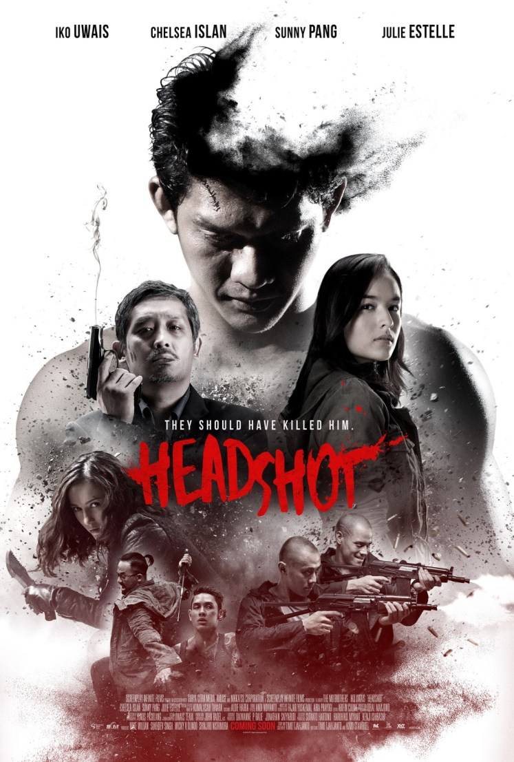 Iko Uwais HEADSHOT Movie