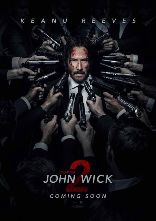 Official poster for John Wick 2