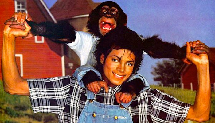 Michael Jackson bubbles