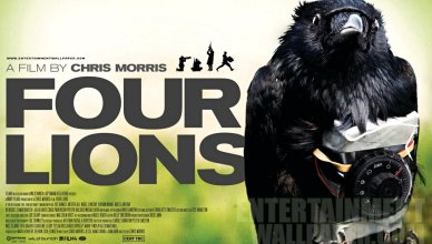 Chris Morris Four Lions Poster