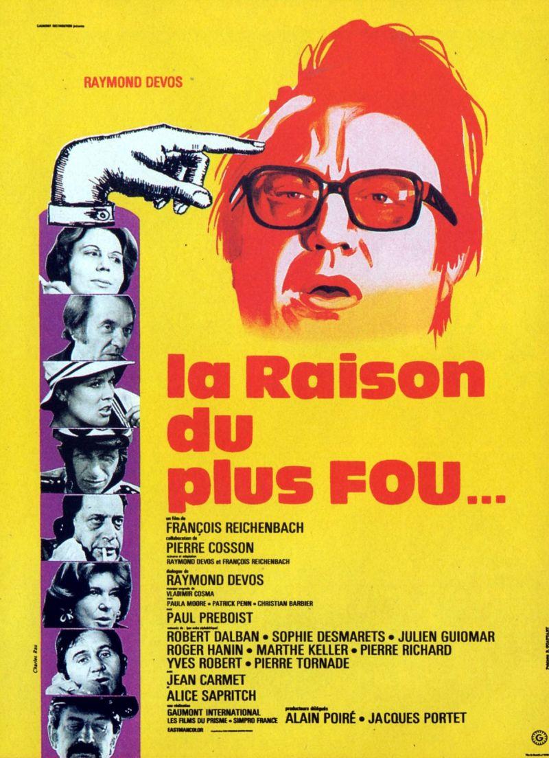 La Raison Du Plus Fou : raison, Raison, (Film,, 1973), MovieMeter.nl