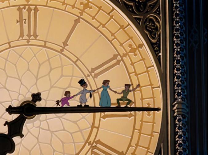 Peter Pan at Big Ben