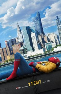 Spiderman: Homecoming poster