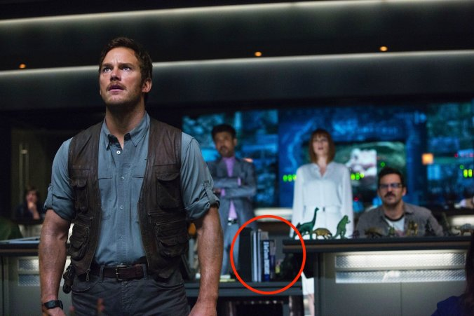 Jurassic World control room