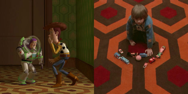 Toy Story and The Shining