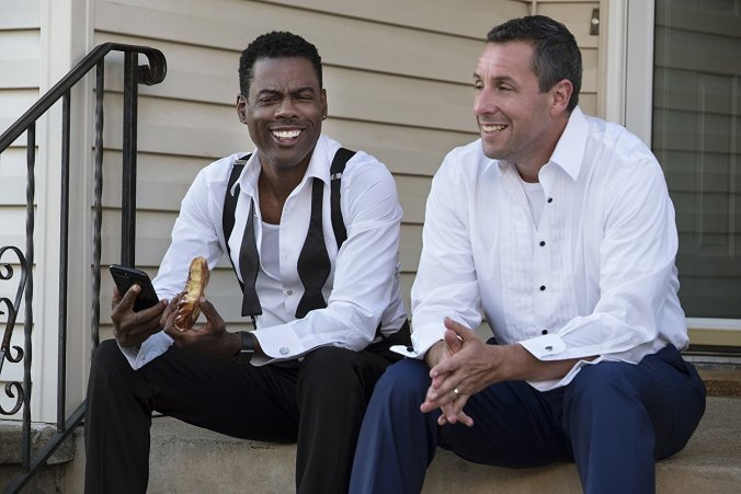 Chris Rock and Adam Sandler in The Week Of