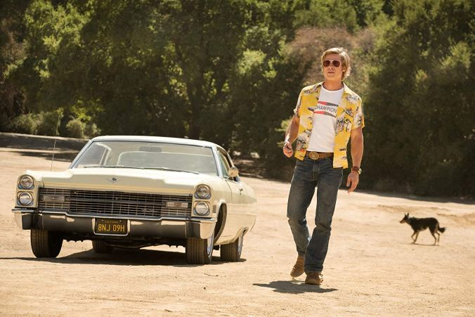 Brad Pitt in Once upon A Time... In Hollywood