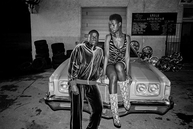 Daniel Kaluuya, Jodie Turner-Smith in Queen & Slim