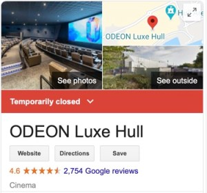 Odeon closures