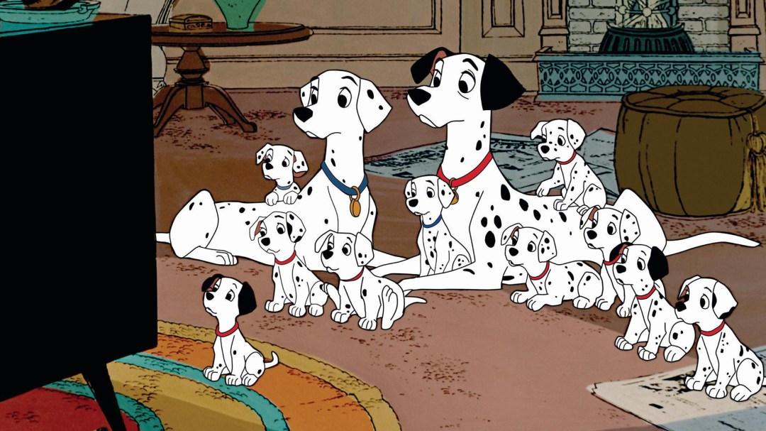 Resultado de imagem para 101 dalmatians 1961 scenes