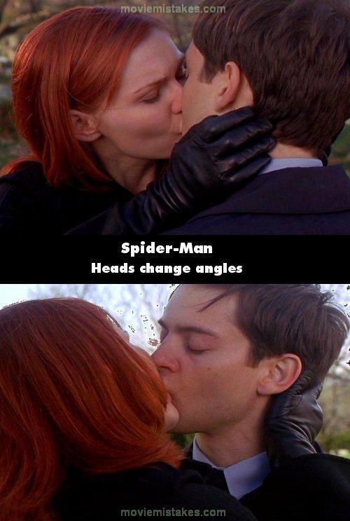 Spider Man 3 Kiss : spider, Spider-Man, (2002), Movie, Mistake, Picture, 66957)