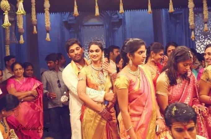 allu arjun marriage photos all