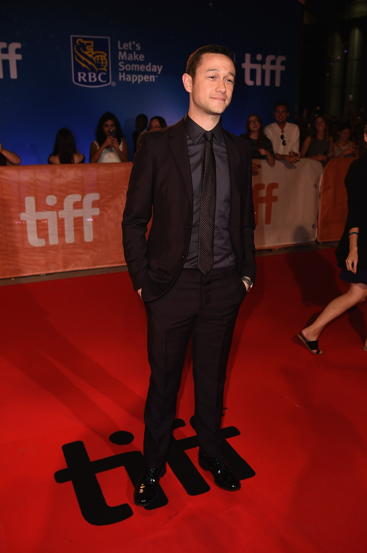 "TORONTO, ON - SEPTEMBER 09:  Actor Joseph Gordon-Levitt attends the ""Snowden"" premiere during the 2016 Toronto International Film Festival at Roy Thomson Hall on September 9, 2016 in Toronto, Canada.  (Photo by Kevin Winter/Getty Images)"