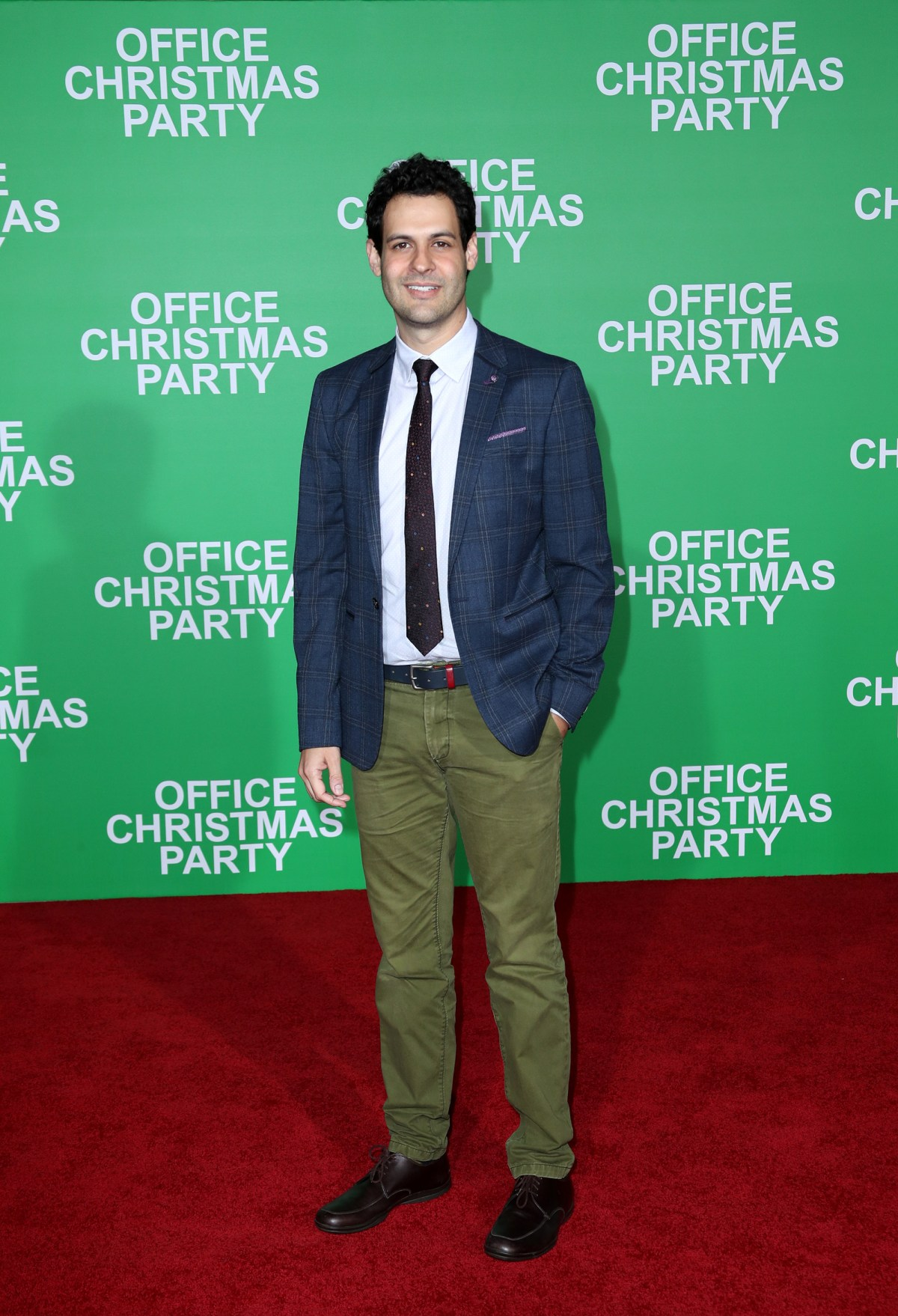 "WESTWOOD, CA - DECEMBER 07:  Actor Andrew Leeds attends the LA Premiere of Paramount Pictures ""Office Christmas Party"" at Regency Village Theatre on December 7, 2016 in Westwood, California.  (Photo by Jonathan Leibson/Getty Images for Paramount Pictures) *** Local Caption *** Andrew Leeds"