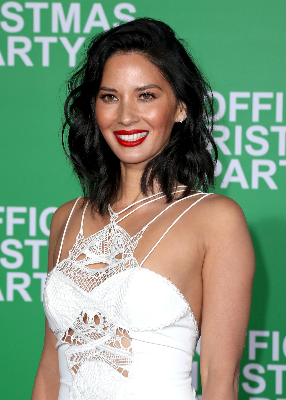 "WESTWOOD, CA - DECEMBER 07:  Actress Olivia Munn attends the LA Premiere of Paramount Pictures ""Office Christmas Party"" at Regency Village Theatre on December 7, 2016 in Westwood, California.  (Photo by Jonathan Leibson/Getty Images for Paramount Pictures) *** Local Caption *** Olivia Munn"