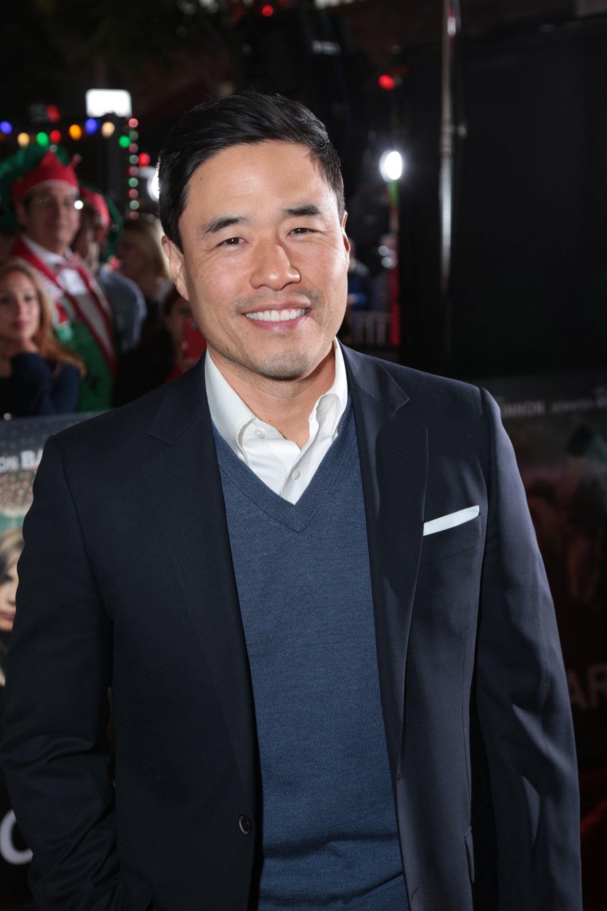 """Randall Park poses as Paramount Pictures presents the Los Angeles premiere of """"Office Christmas Party"""" at the Regency Village Theater in Los Angeles, CA on Wednesday, December 7, 2016  (Photo: Alex J. Berliner / ABImages)"""