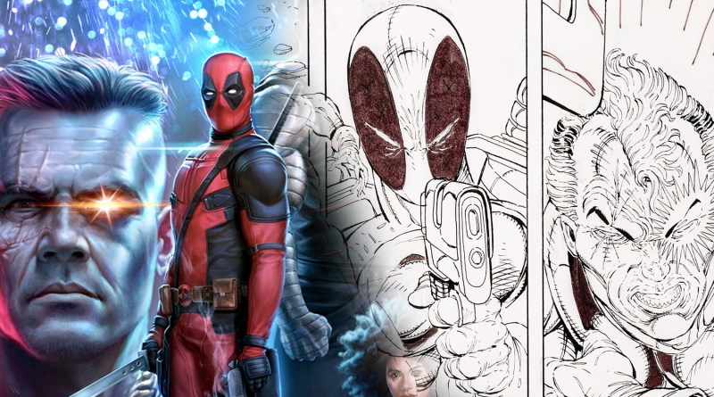 Artwork from Deadpool's First Comic Book Appearance Up for Auction