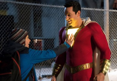 First Shazam! TV Spot Shows Us the Ultimate Fanboy Dream Come to Life