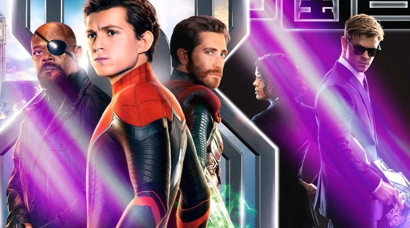 New Movie Posters: Peter Parker Strikes a Pose and Men in Black International Goes Graphic