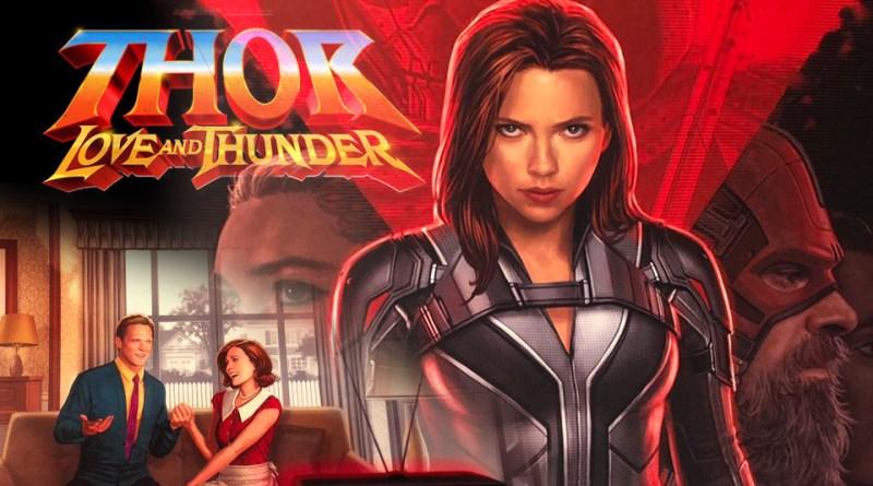 D23 Marvel Movie Nooz: First Look at Black Widow, Taika Talks Thor, Disney+ Reveals