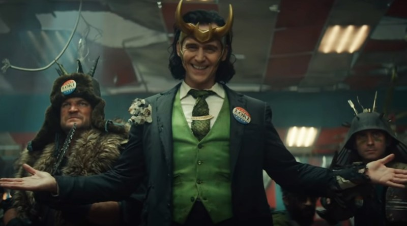 Intriguing Extended Clip from Streaming Series Loki Starring Tom Hiddleston