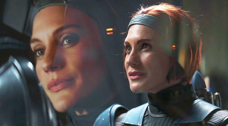 Katee Sackhoff Was Surprised She Was Cast as Bo-Katan in The Mandalorian