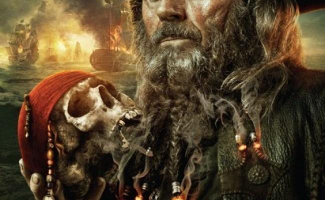 Poster Di Barbanera Villain Di Pirati Dei Caraibi Oltre