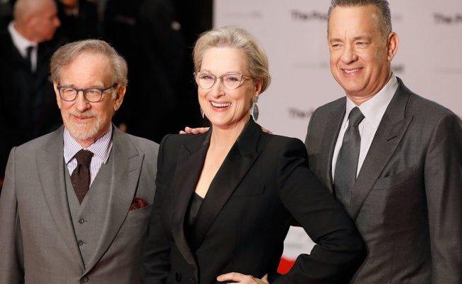 Che Tempo Che Fa Oggi Spielberg Hanks E Streep Ospiti Di