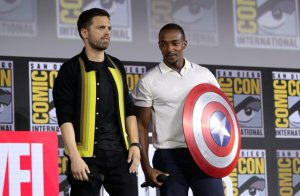 Risultati immagini per the falcon and the winter soldier san diego