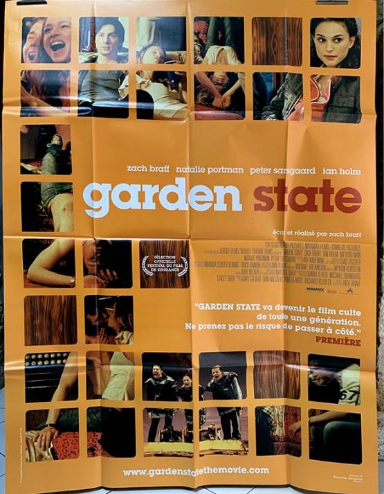 affiche originale garden state