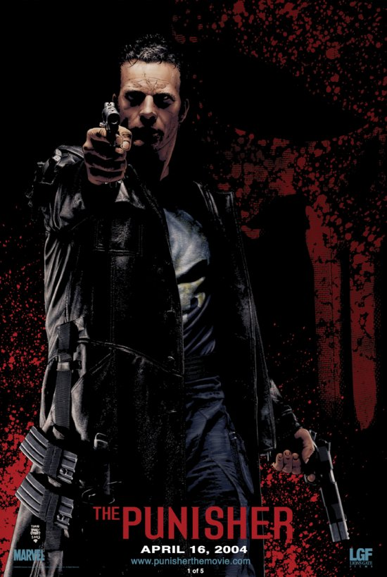 Movie Posters2038net  Posters for movieid784 Punisher The 2004 by Jonathan Hensleigh