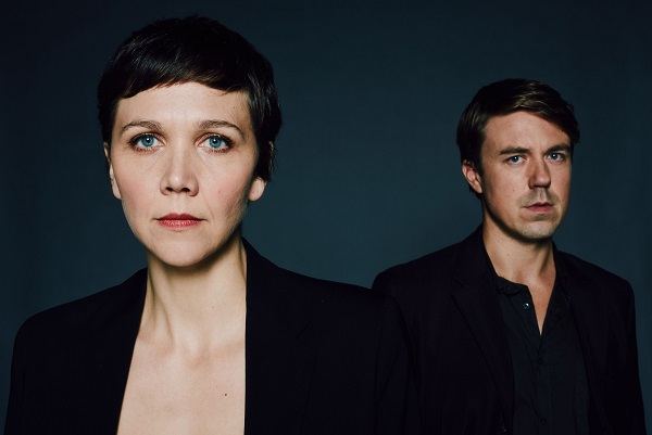 Programme Name: The Honourable Woman - TX: n/a - Episode: n/a (No. n/a) - Picture Shows: Ephra Stein (ANDREW BUCHAN), Nessa Stein (MAGGIE GYLLENHALL) - (C) Drama Republic - Photographer: Des Willie