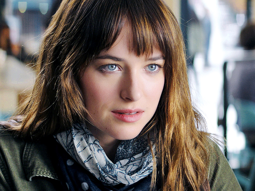 FIFTY SHADES OF GREY, Dakota Johnson, 2015. ph: Chuck Zlotnick/©Focus Features/courtesy Everett Collection