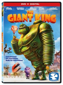 The Giant King 3D DVD