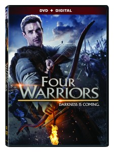 FOUR WARRIORS 3d DVD