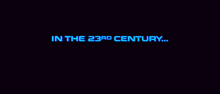 In the 23rd century...