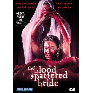 blood spattered bride blue underground dvd