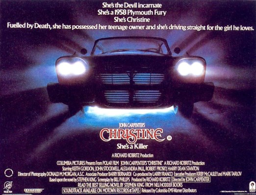 Christine-John-Carpenter-horror-film-poster