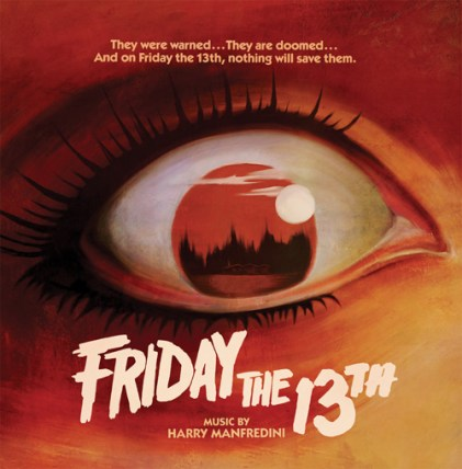 Friday the 13th soundtrack cover Waxwork Records
