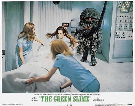 Green Slime attack