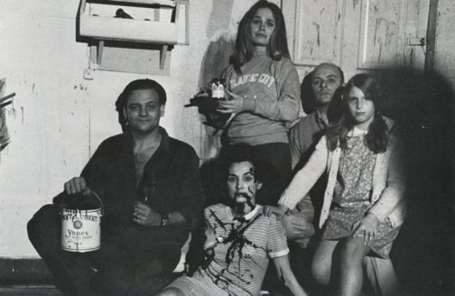 night of the living dead cast pose
