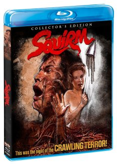 Squirm Scream Factory Blu-ray
