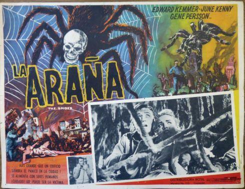 the spider la arana