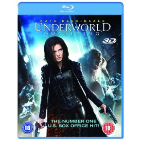 underworld awakening 3D blu-ray + blu-ray