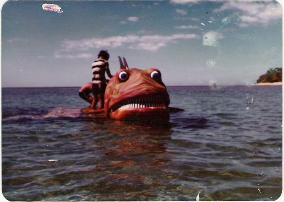 up from the depths 1979 fish monster