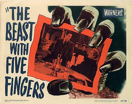 beast-with-five-fingers-1946-poster