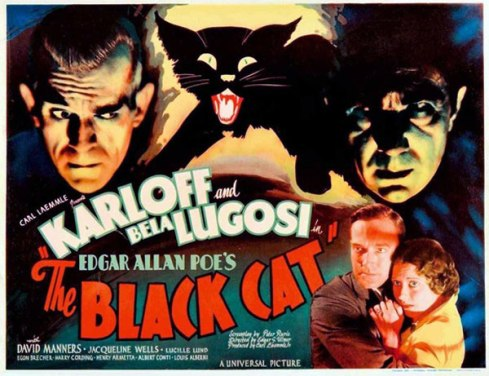 black cat lugosi karloff 1934